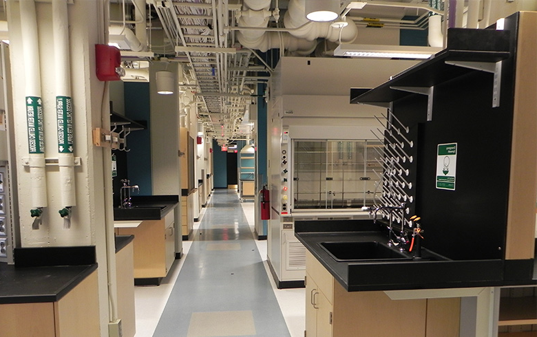 Image of renovated lab
